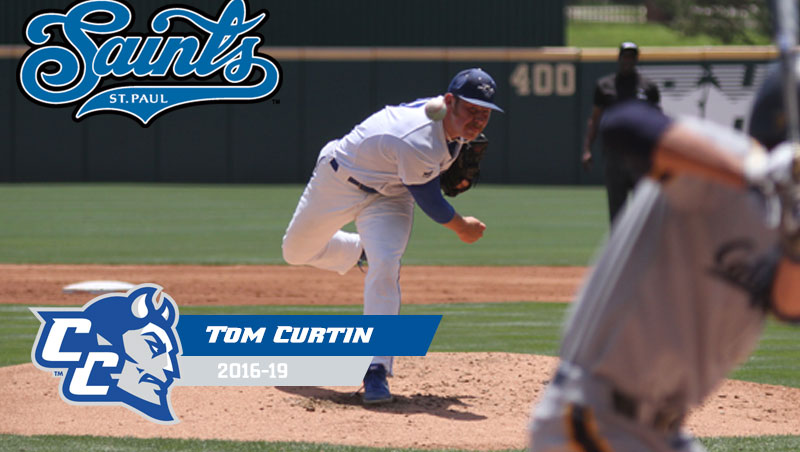 Tom Curtin Signs Professionally with St. Paul Saints